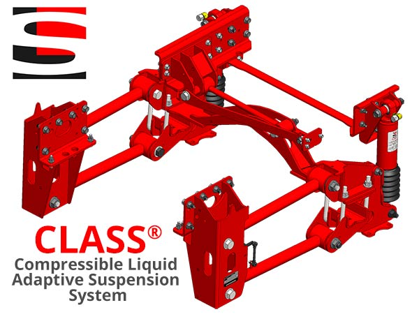 CLASS® Compressible Liquid Adaptive Suspension System from Liquid Spring, LLC