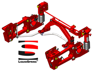 CLAAS suspension from LiquidSpring.