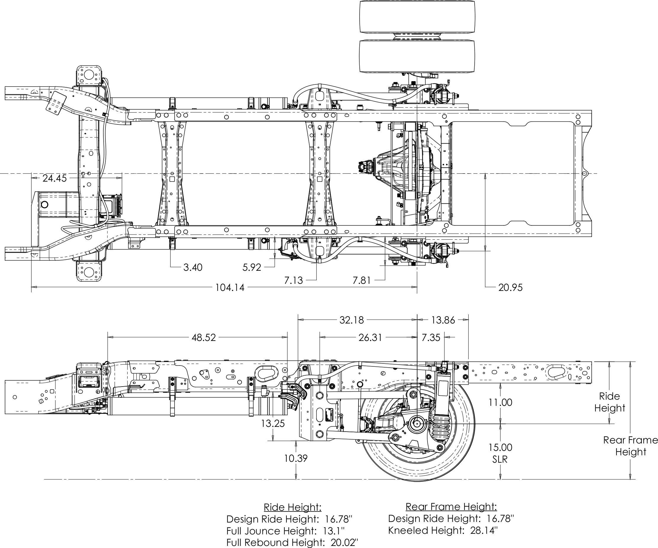 Ford F 550 Suspension System For Emergency Vehicles