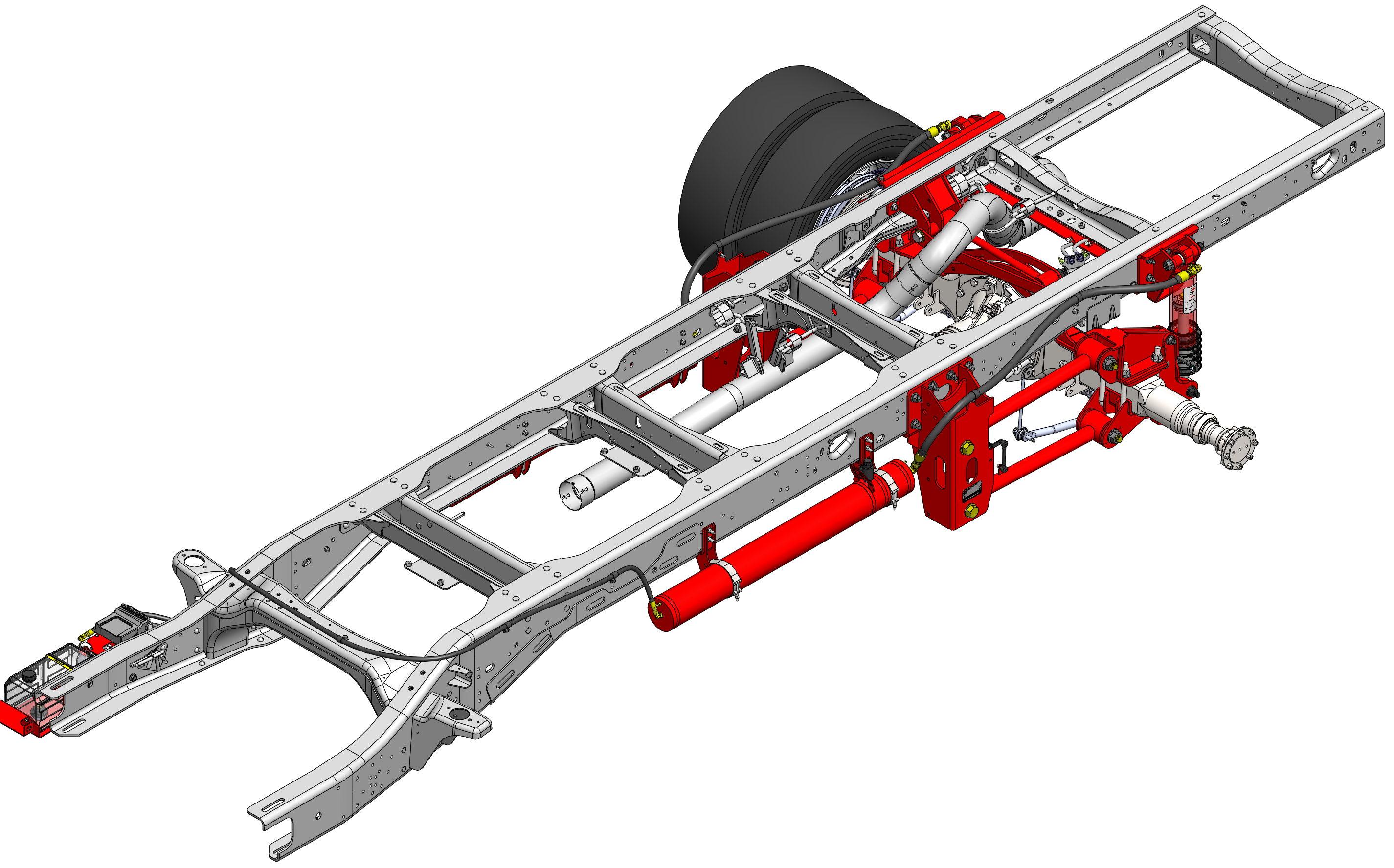 RAM 5500 Suspension System for buses.